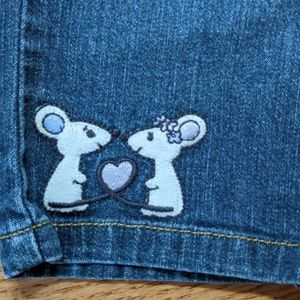 Gymboree Mouse Jeans Baby Heart